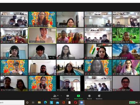 Online Student Exchange between JALSTA Schools, AICJ School of Hiroshima and Sabaragamu - Sri Lanka