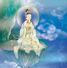 Guan Yin Compassion Buddha, speaks