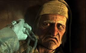 Guan Yin speaks. Day 11.  Scrooge, a genius tale of karma