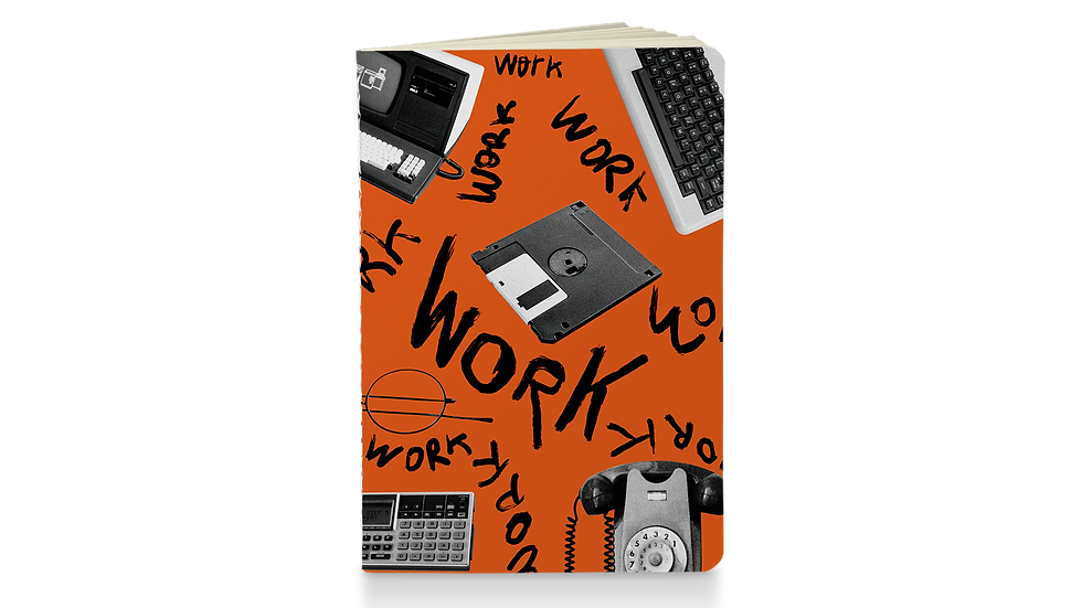 Caderneta Work 130x180mm