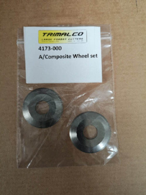 Aluminium composite wheel set