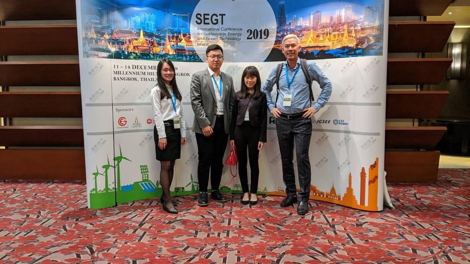 SEGT conference in Bangkok
