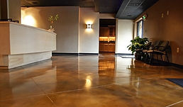 Polished Concrete Reception