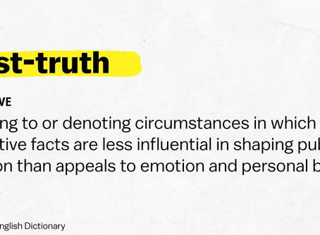Corona: challenging a post-truth worldview