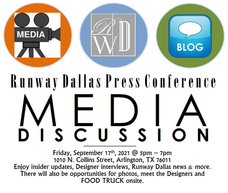 TO ALL MEDIA, PRESS, BLOGGERS & INTERVIEWERS, MARK YOUR CALENDER.
