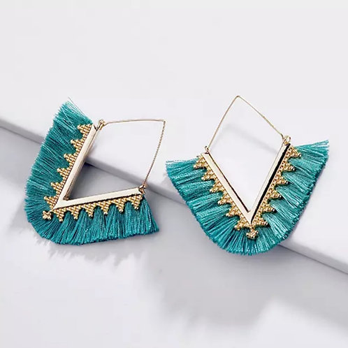 V Squared Earrings