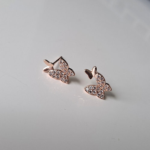 Bonded Butterfly Studs