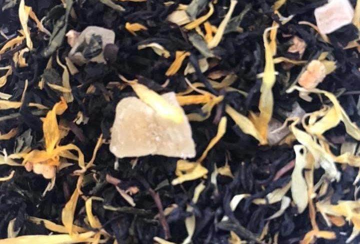 Thé noir Mangue et passion