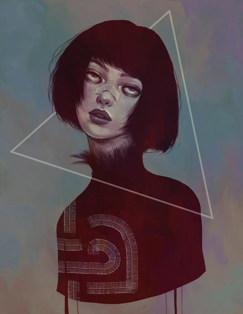 geometric crow woman.jpg