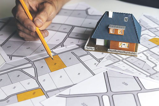 choose a building plot of land for house