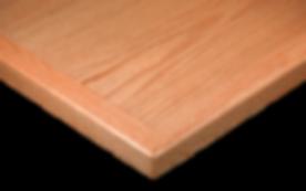 Oak Veneer with Solid Wood Edge