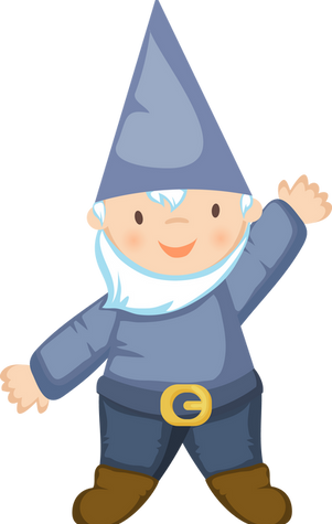 Gnome, free PNG collection