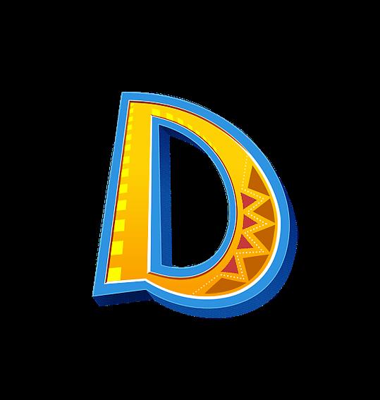 Letter D PNG