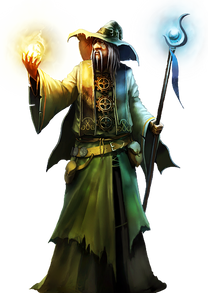 Wizard, free PNG collection