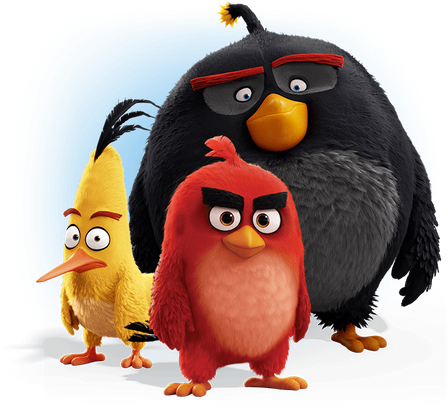 Angry birds PNG