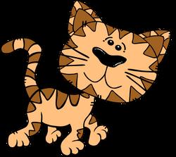 Gerald_G_Cartoon_Cat_Walking