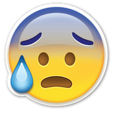 PNG images, Emoji, happy, worry, worrying