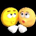 PNG images, Emoji, kiss,