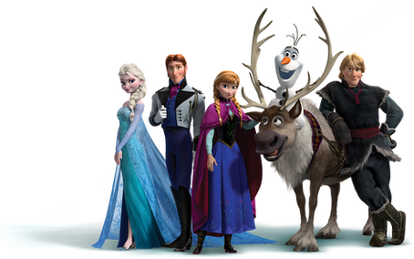 Frozen, free PNG collection