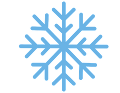 PNG images, Emoji, snow, snowflake