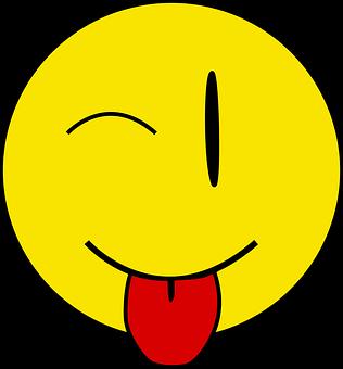 PNG images, Emoji, wink