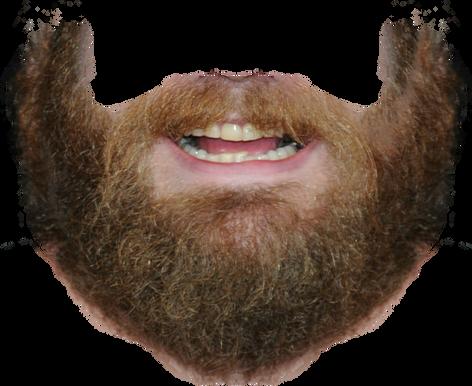 Beard transparent images