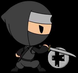 Ninja, free PNG collection