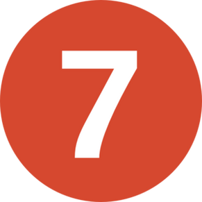 Number seven, free PNGs
