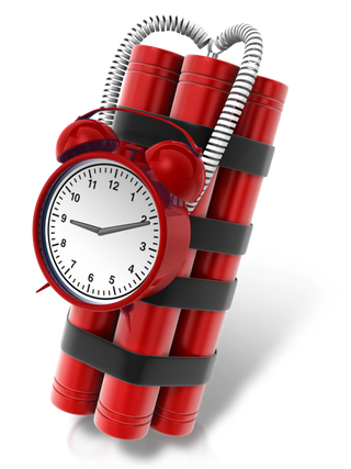 Time bomb PNG images