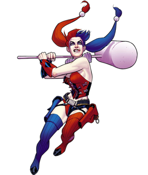 Harley Quinn, free cutout images