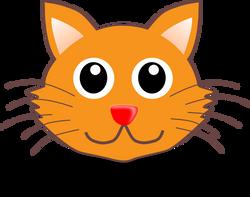 Cat_001_Face_Cartoon
