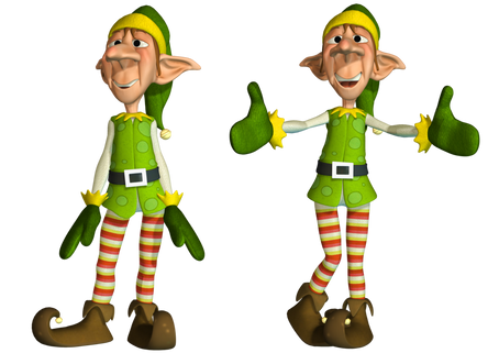 Elf, free PNG collection