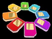 SIM cards: