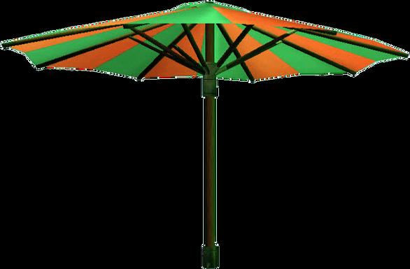 Parasol free cutouts