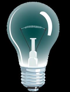Light bulb, free PNGs