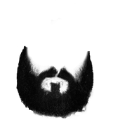 Beard transparent images