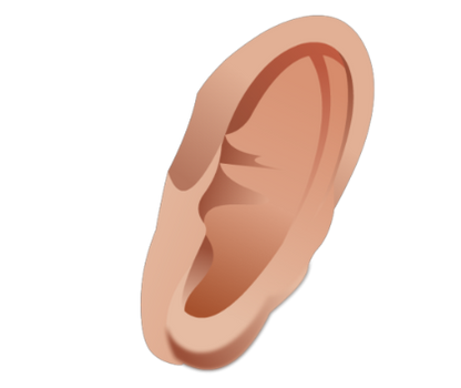 Ear transparent images
