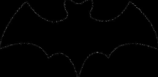 Bat free transparent cutouts