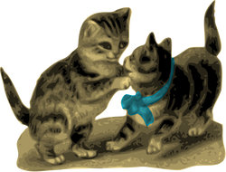 AlanO_Kittens_One_with_Blue_Ribbon