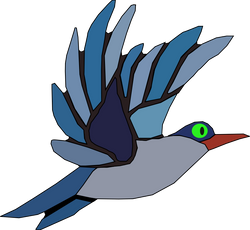 Machovka_Blue_bird