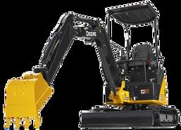 Excavator PNG cutouts