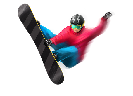 Snowboarding PNG
