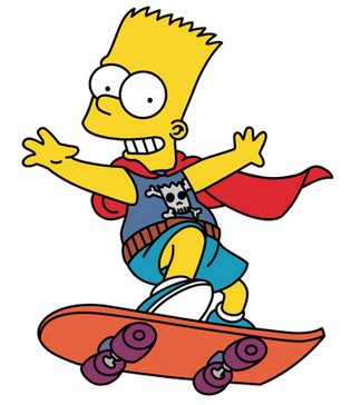 Bart Simpson, free PNG collection