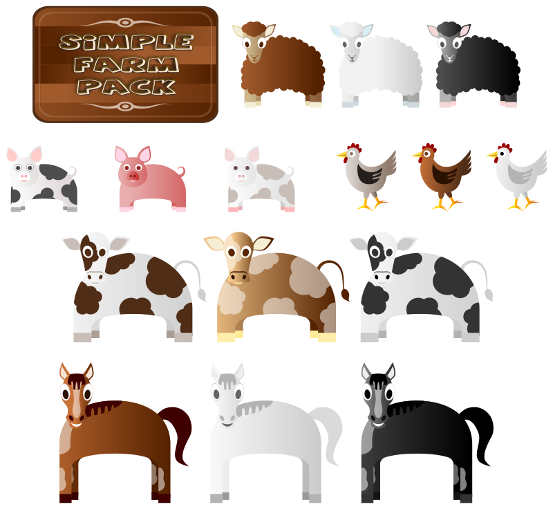 Simple_Farm_Animals