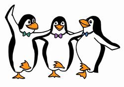 Pinguinehorizontal