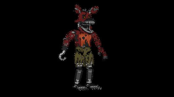 Nightmare fox transparent PNGs