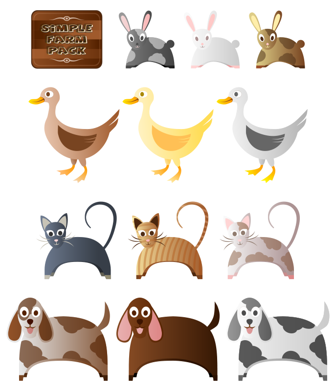 Simple_Farm_Animals_2