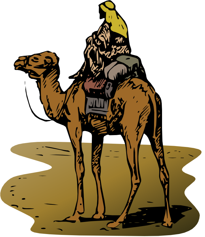Gerald_G_Camel_with_Rider