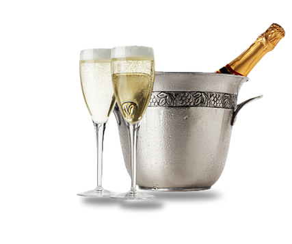 PNG images: Champagne