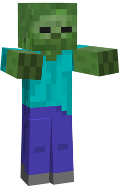 Minecraft transparent PNGs